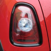 Rear light rings - Black 2nd gen